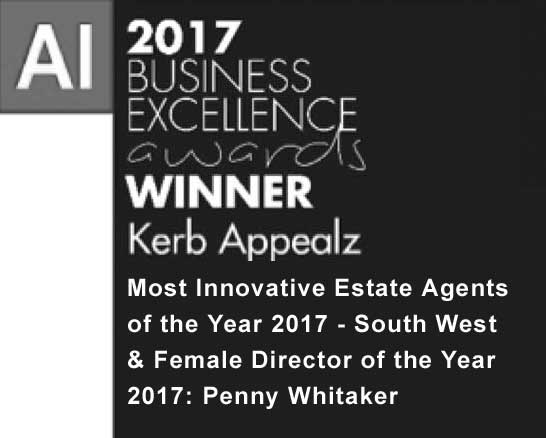 AI Award, Kerb Appealz Most Innovative Estate Agents of the Year 2017 & Female Director of the Year 2017, Penny Whitaker