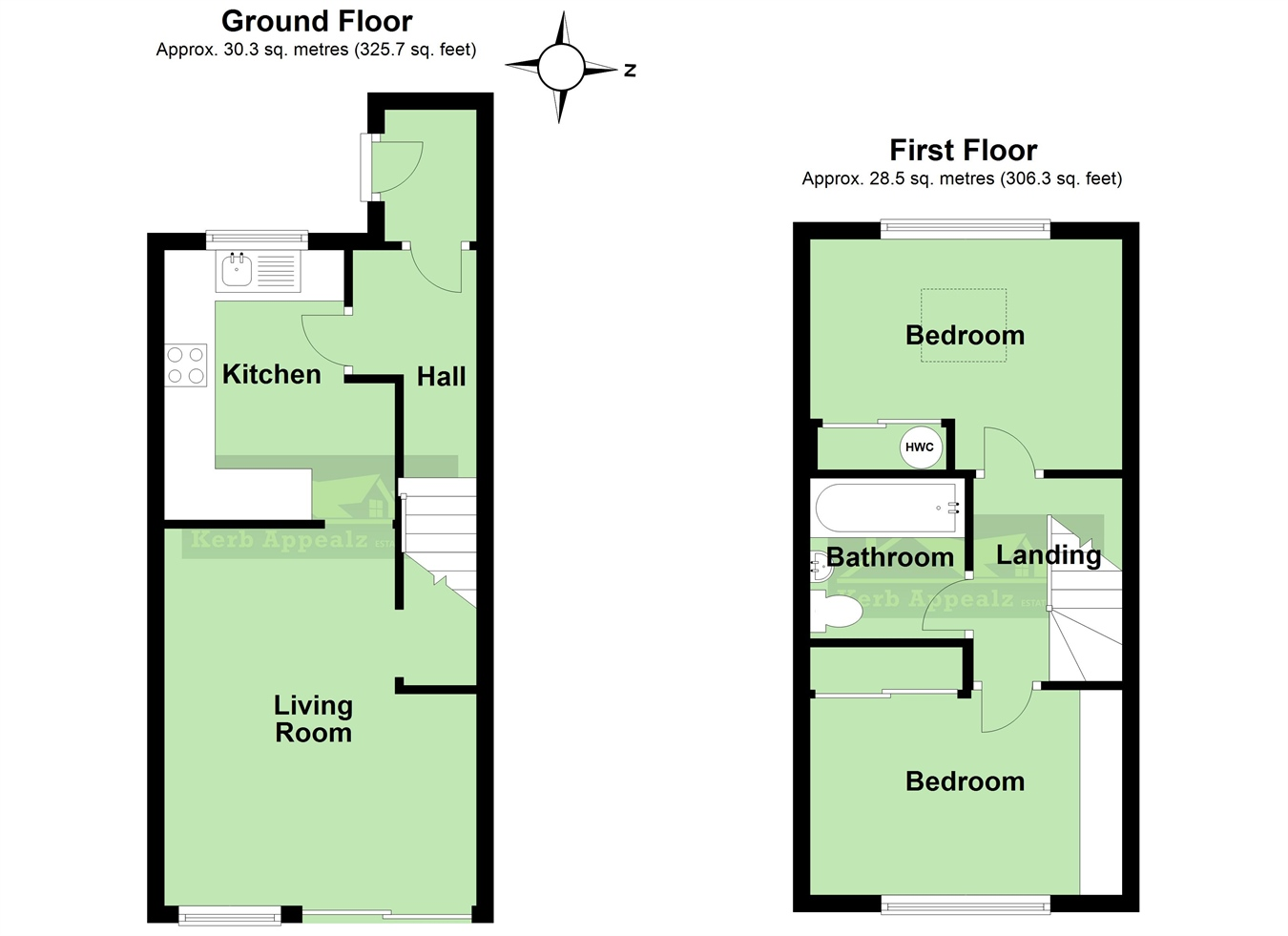 Floorplan 2 of  for sale in St Erth