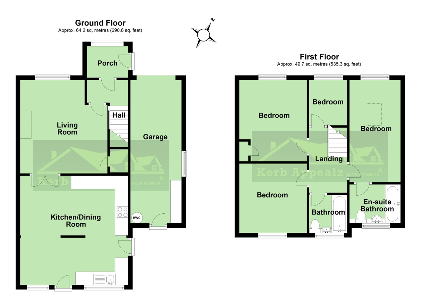 Floorplan 1 of  for sale in Crowlas