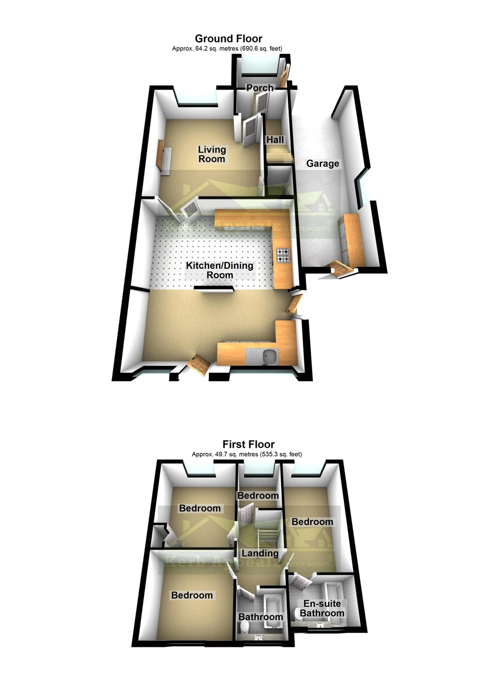 Floorplan 2 of  for sale in Crowlas