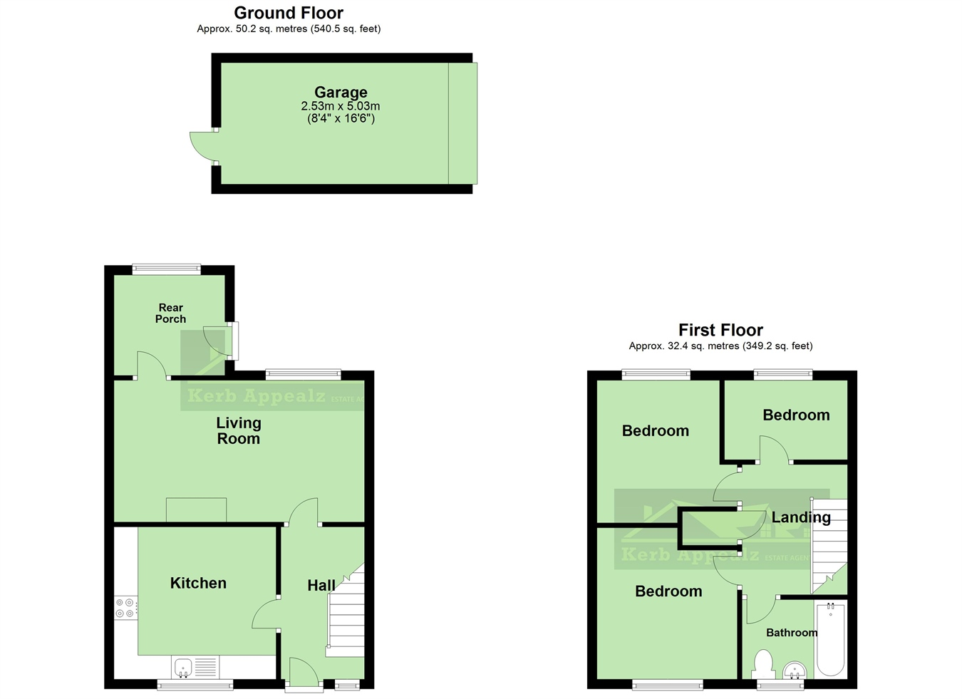 Floorplan 2 of  for sale in Pendeen