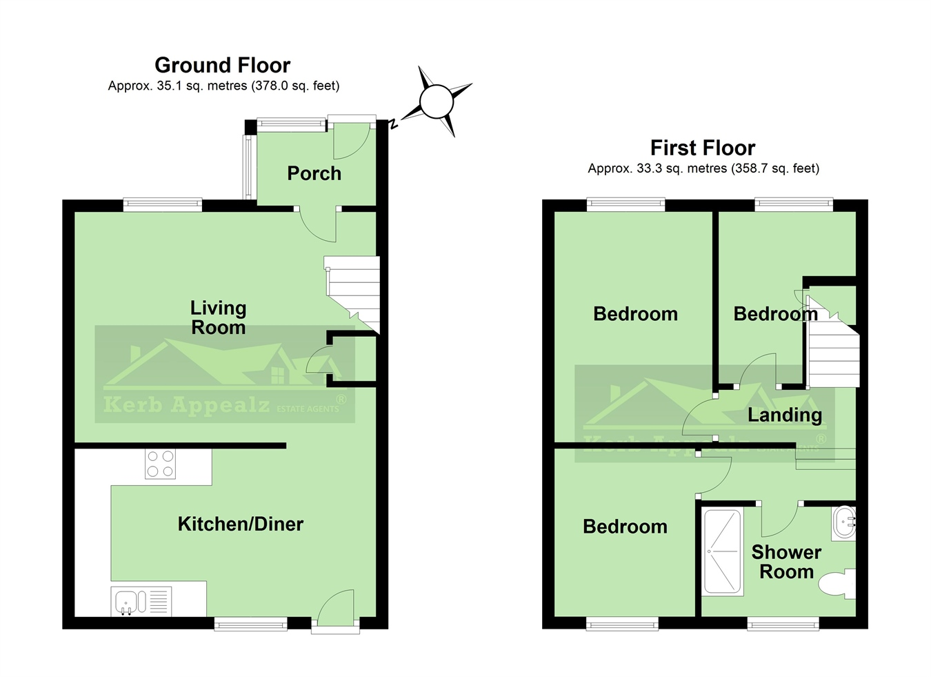 Floorplan 2 of  for sale in Camborne