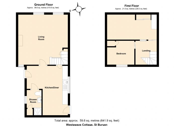 Floorplan 2 of  for sale in St Buryan