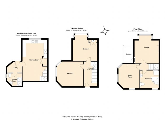 Floorplan 2 of  for sale in St Ives