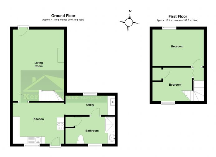 Floorplan 1 of  for sale in Redruth