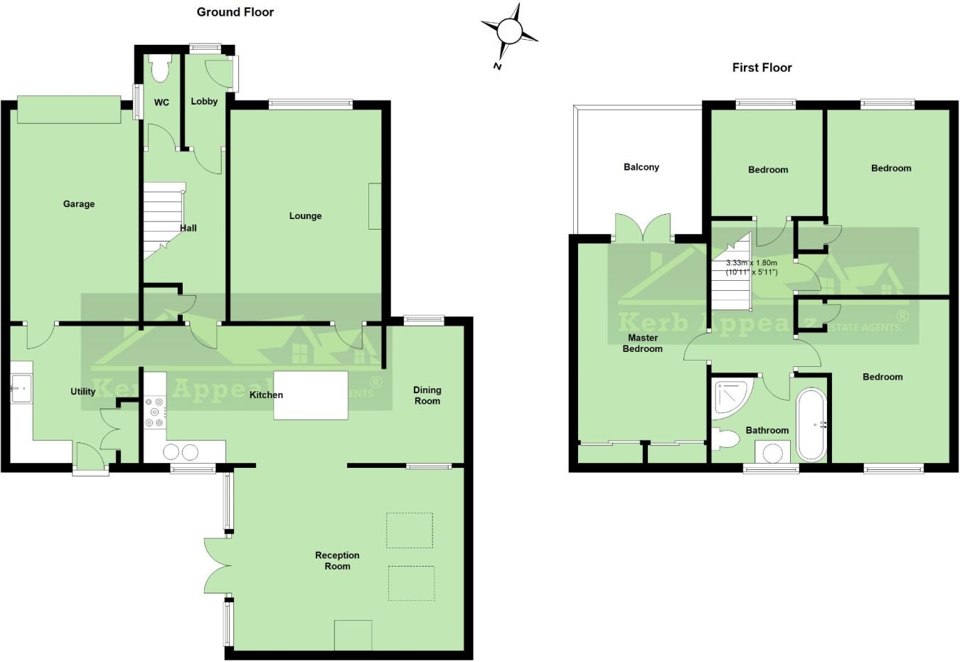 Floorplan 1 of  for sale in Newlyn