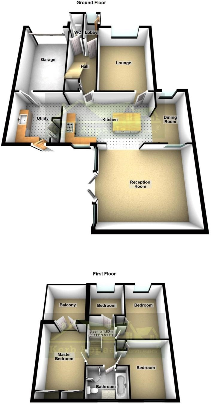 Floorplan 2 of  for sale in Newlyn
