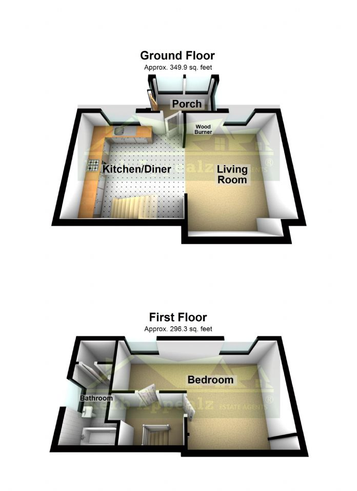 Floorplan 2 of  for sale in St Just