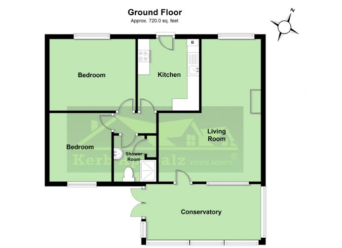 Floorplan 1 of  for sale in Gulval