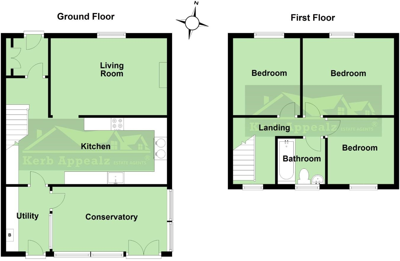 Floorplan 1 of  for sale in Goldsithney