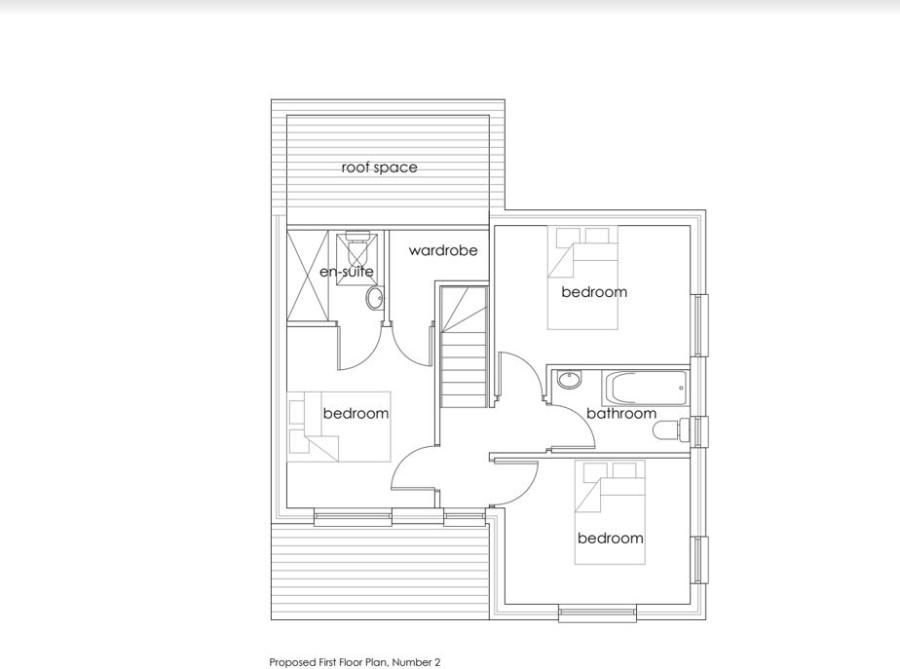 Floorplan 2 of  for sale in Goldsithney