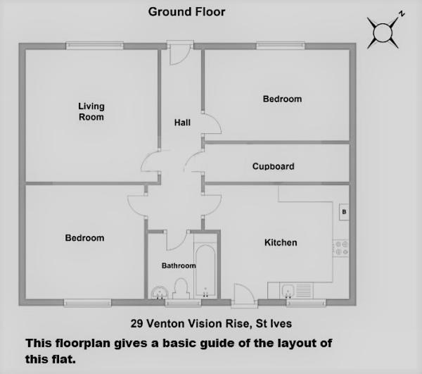 Floorplan 1 of  for sale in St Ives