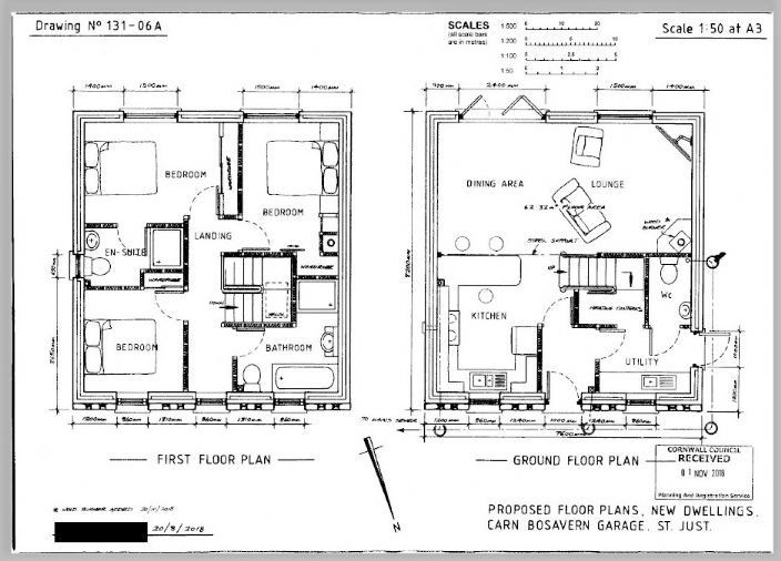 Floorplan 1 of  for sale in St Just
