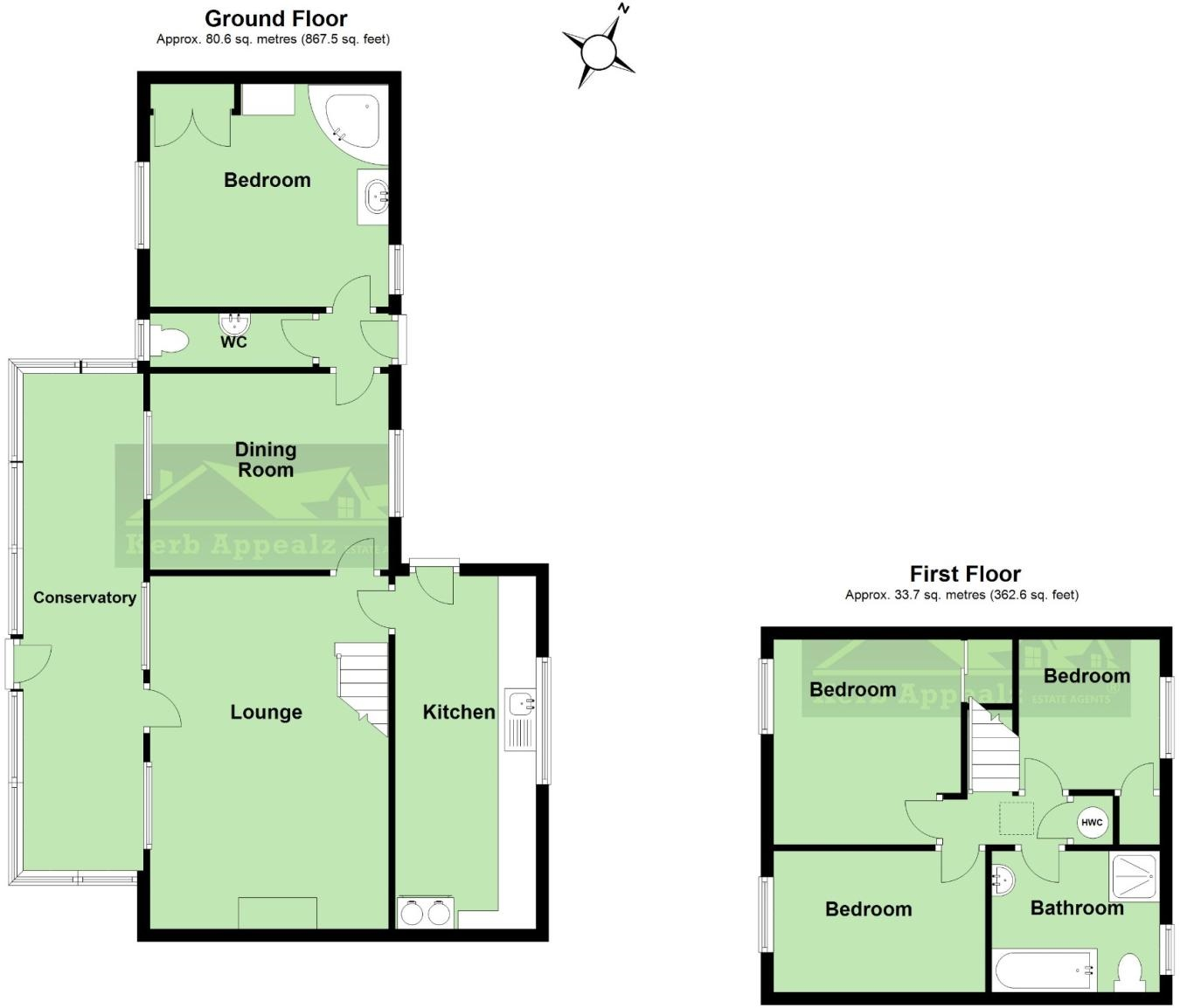 Floorplan 1 of  for sale in Rosudgeon