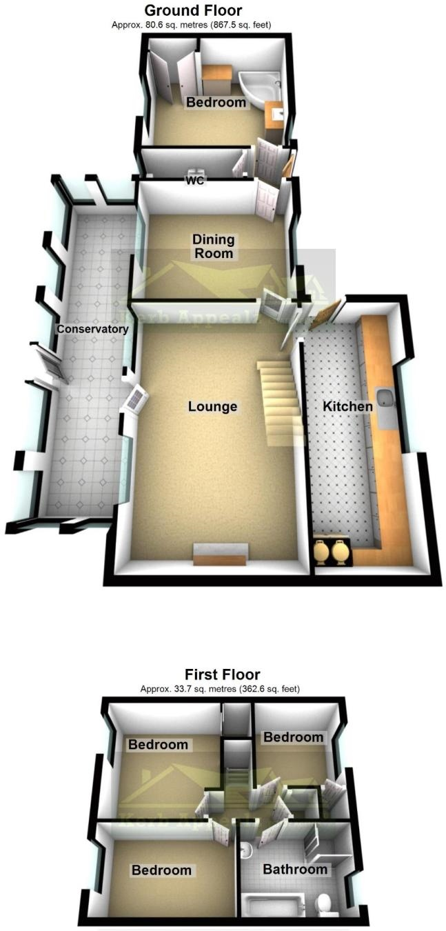 Floorplan 2 of  for sale in Rosudgeon