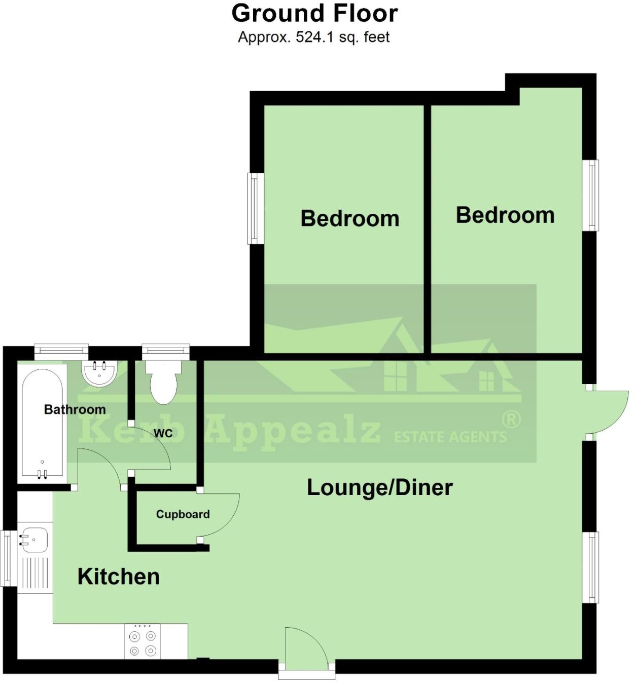 Floorplan 1 of  for sale in Sennen