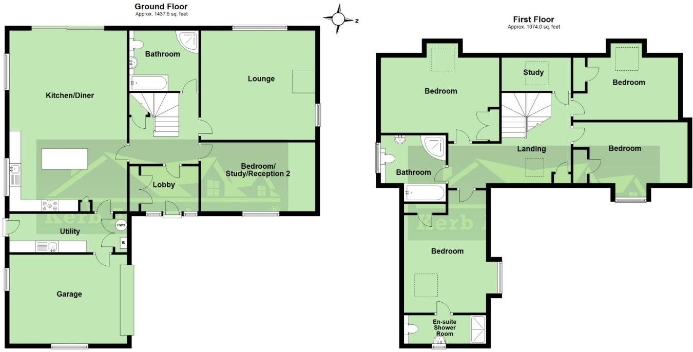 Floorplan 1 of  for sale in Hayle