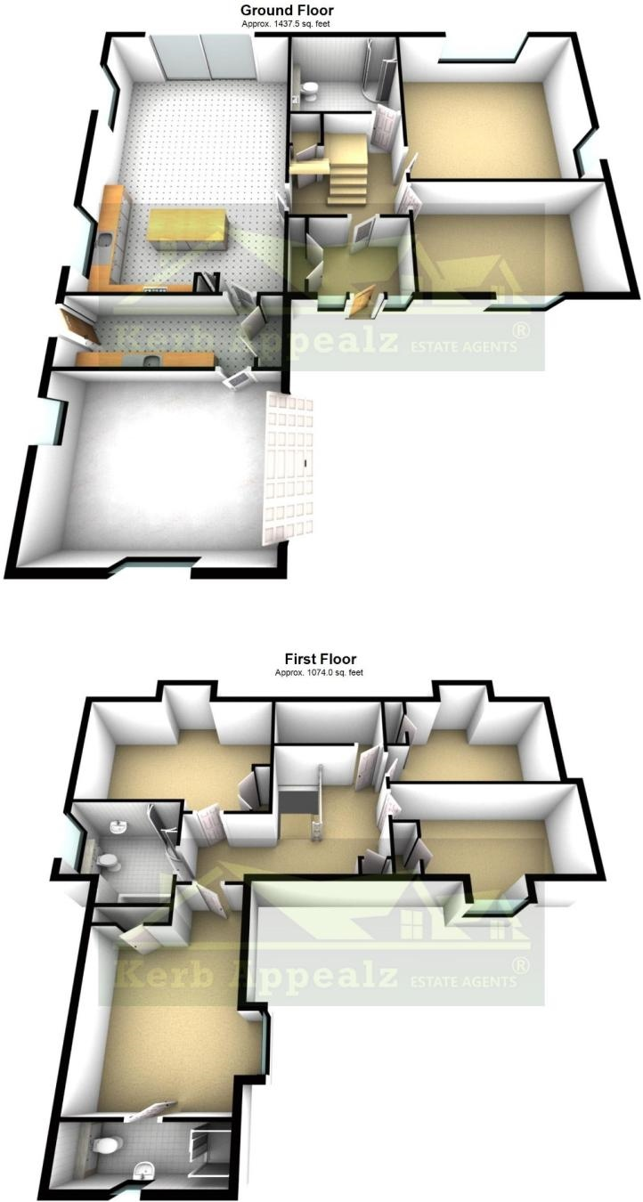 Floorplan 2 of  for sale in Hayle