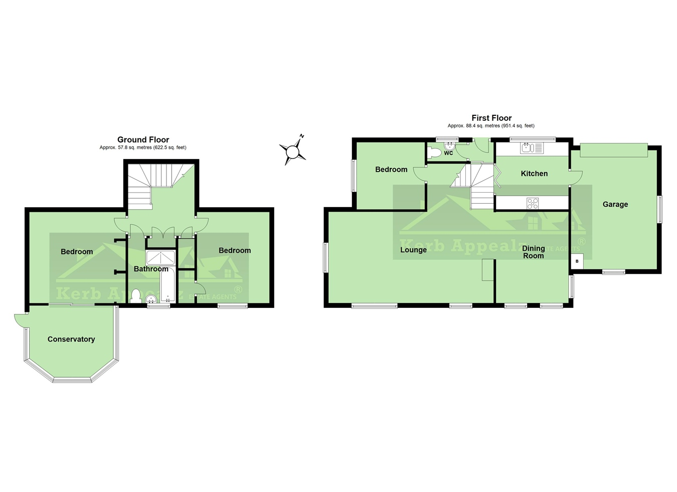 Floorplan 2 of  for sale in Ludgvan