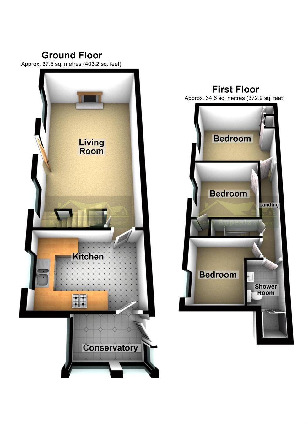 Floorplan 1 of  for sale in Madron