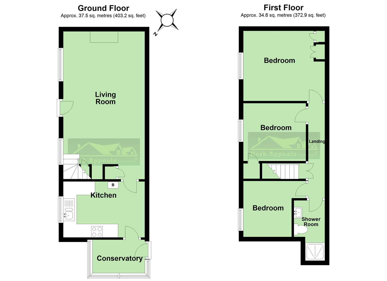 Floorplan 2 of  for sale in Madron