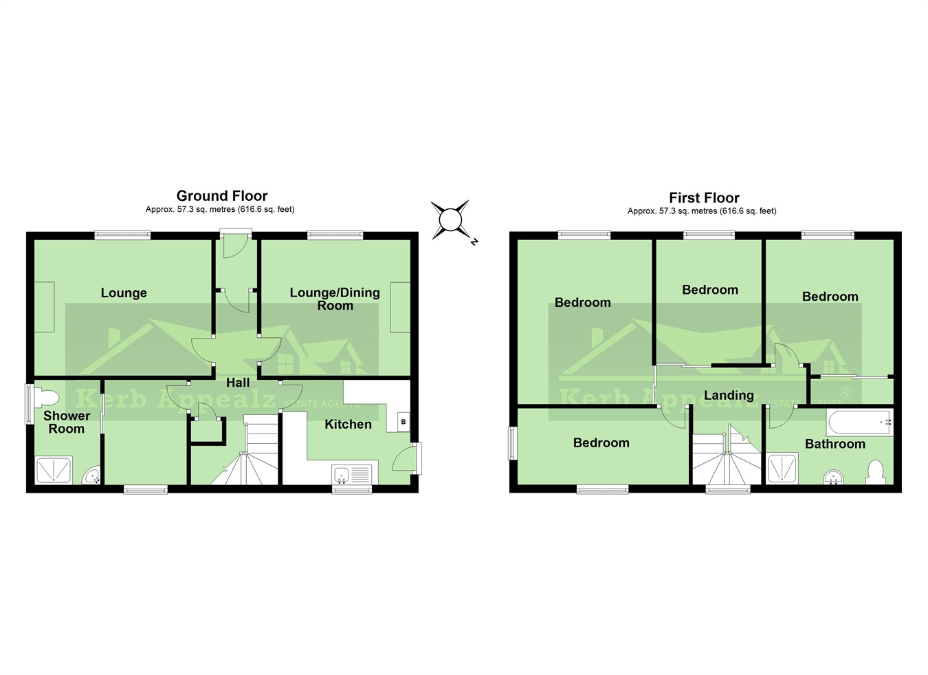 Floorplan 2 of  for sale in Redruth