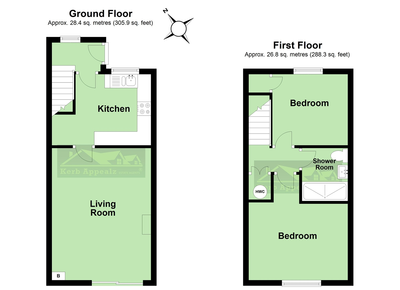 Floorplan 4 of  for sale in Hayle