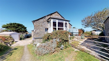 Detached House for sale in Pendeen: The Barn, Lower Boscaswell, Pendeen, Cornwall., £350,000