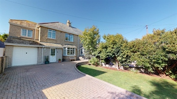 Semi Detached House for sale in Heamoor: Rosparvah Gardens, Heamoor, Penzance, Cornwall., £350,000