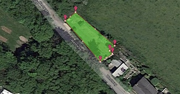 Land for sale in Redruth: Land Beside The Glen, Wheal Rose, Scorrier, Cornwall., £140,000