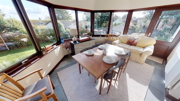 Detached Bungalow, 3 bedroom Property for sale in Lelant, Cornwall for £400,000, view photo 2.