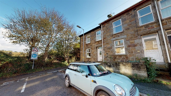 Terraced, House, 3 bedroom Property for sale in Heamoor, Cornwall for £185,000, view photo 1.