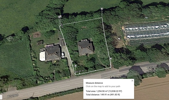 Land, 3 bedroom Property for sale in Goldsithney, Cornwall for £240,000, view photo 1.