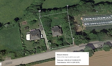 Land for sale in Goldsithney: St Hilary, Penzance, Cornwall.  TR20 9DL, £240,000