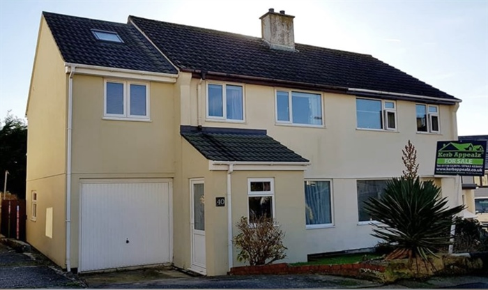 Semi Detached House, End of Terrace, 4 bedroom Property for sale in Crowlas, Cornwall for £240,000, view photo 1.