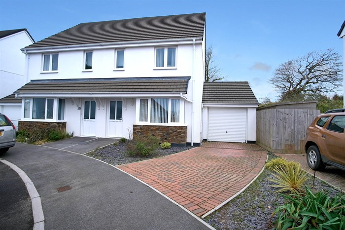 Semi Detached House, 3 bedroom Property for sale in Hayle, Cornwall for £245,000, view photo 1.