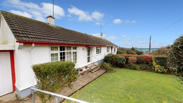 Semi Detached Bungalow for sale in Mousehole: Mousehole Lane, Mousehole, Penzance, Cornwall., £300,000