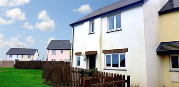 Semi Detached House for sale in St Ives: Crossfields, St Ives, Cornwall., £200,000