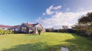 Semi Detached Bungalow for sale in Helston: Rinsey Lane, Ashton, Cornwall., £300,000