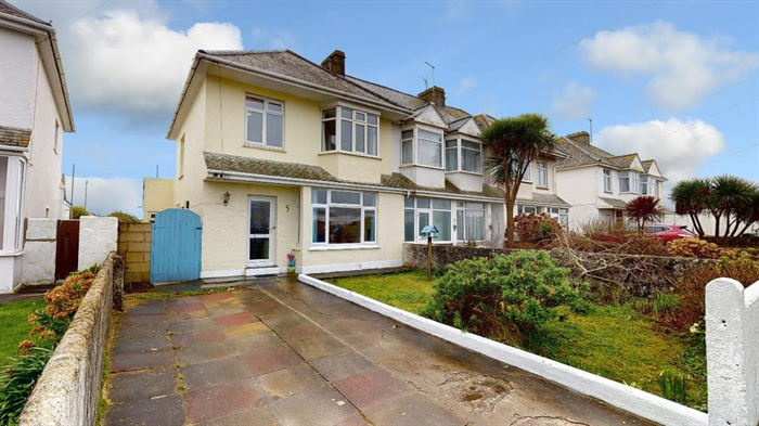 Semi Detached House, 3 bedroom Property for sale in Penzance, Cornwall for £290,000, view photo 1.