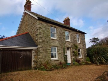 House for sale in Penzance: Trewhella Villa, Relubbus Lane, St Hilary, Penzance, Cornwall.  TR20 9EQ, £380,000