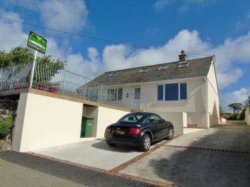 Detached Bungalow, Bungalow, Holiday Home for sale in Penzance: Croatia, Tregender Lane, Crowlas, Penzance, Cornwall.  TR20 8DH, £400,000