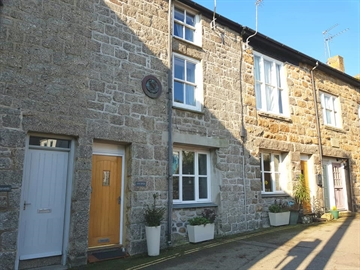 Terraced, House, Holiday Home for sale in Mousehole: Agan Chi, Commercial Road, Mousehole, Penzance, Cornwall.  TR19 6QG, £350,000
