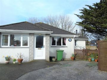 Detached Bungalow for sale in St Ives: Higher Boskerris, Carbis Bay, St Ives, Cornwall.  TR26 2TL, £280,000