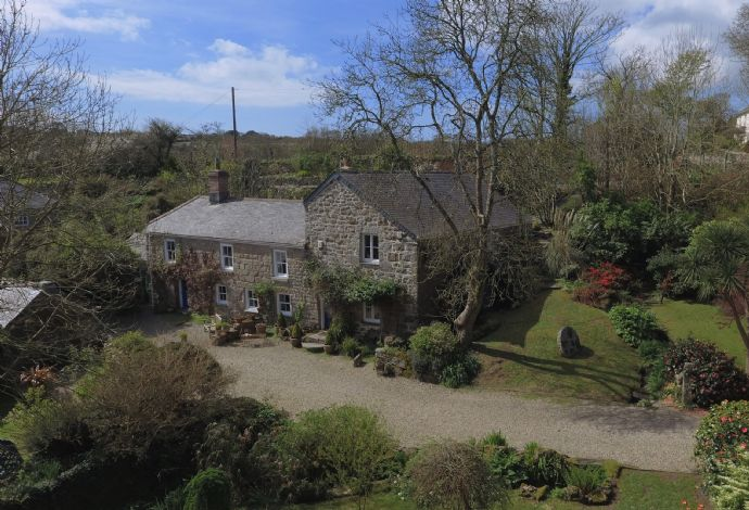 Detached House, 4 bedroom Property for sale in Lamorna, Cornwall for £650,000, view photo 2.
