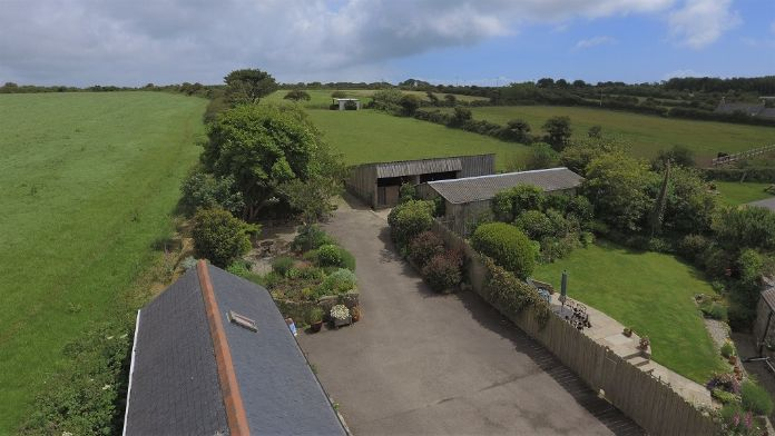 Detached House, Small Holding, With Annexe, Land, 2 bedroom Property for sale in Penzance, Cornwall for £550,000, view photo 12.