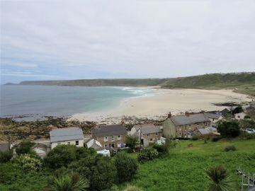 Detached House for sale in Sennen: Stone Chair Lane, Sennen Cove, Sennen, Penzance.  TR19 7DE, £650,000