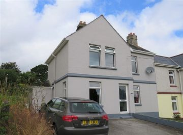Semi Detached House sold in Par: Rose Hill, St Blazey, Par, Cornwall.  PL24 2LQ, £180,000