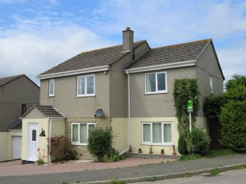 Detached House for sale in Praze: Trethannas Gardens, Praze, Camborne, Cornwall.  TR14 0LL, £249,995