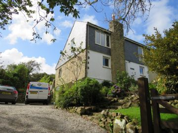 Semi Detached House for sale in St Ives: Nancledra, St Ives, Cornwall.  TR20 8LQ, £425,000